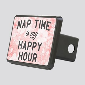 Nap Time Is My Happy Hour Rectangular Hitch Cover