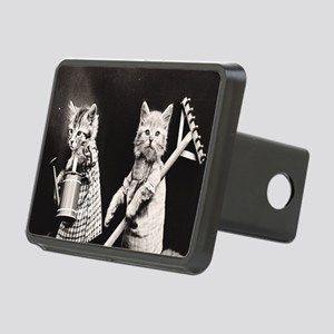 Kittens At Work Rectangular Hitch Cover