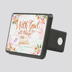 With God Rectangular Hitch Cover