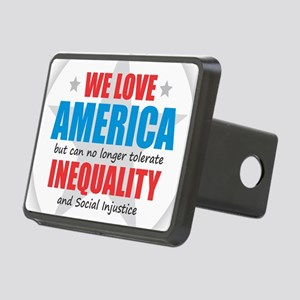 We Love America... BUT Rectangular Hitch Cover