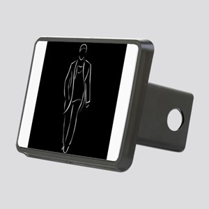 male model on fashion show Rectangular Hitch Cover