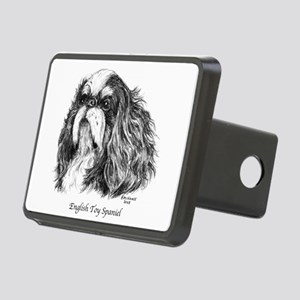 English Toy Spaniel Rectangular Hitch Cover