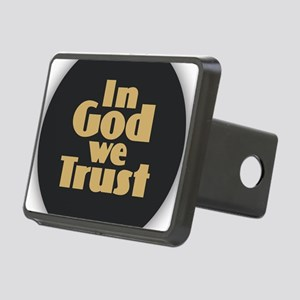 In God We Trust Rectangular Hitch Cover