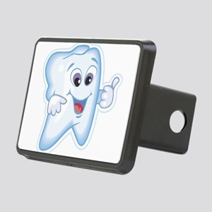 9987466thumbs up tooth Rectangular Hitch Cover
