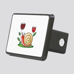 SNAIL AND FLOWERS Hitch Cover
