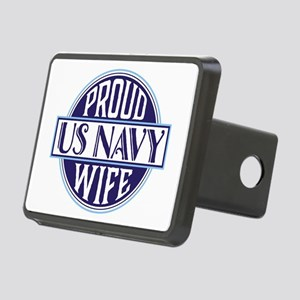 Proud US Navy Wife Rectangular Hitch Cover