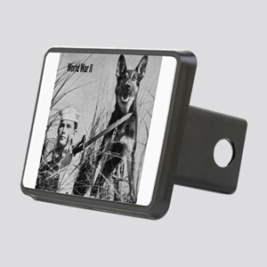 WWI Mug Picture Rectangular Hitch Cover