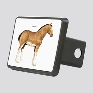 Clydesdale Horse Rectangular Hitch Cover