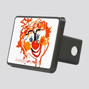 Silly Clown Rectangular Hitch Cover