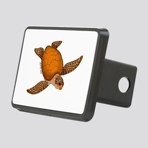 Sea Turtle Rectangular Hitch Cover