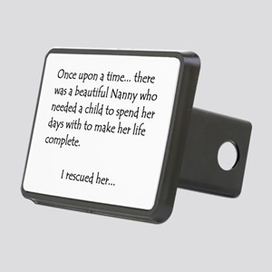 THE STORY OF NANNY Rectangular Hitch Cover