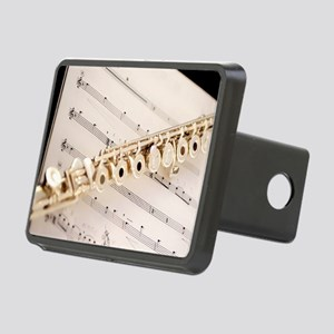 Flute and Music Rectangular Hitch Cover