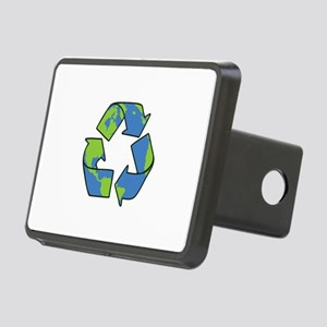 Recycle Symbol Hitch Cover