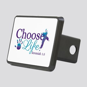 Choose Life Jeremiah 1:5 Rectangular Hitch Cover