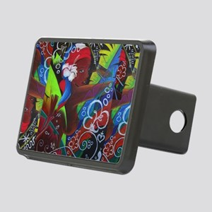 Where Rainbows Dance Rectangular Hitch Cover