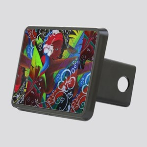 Where Rainbows Dance 2 Rectangular Hitch Cover