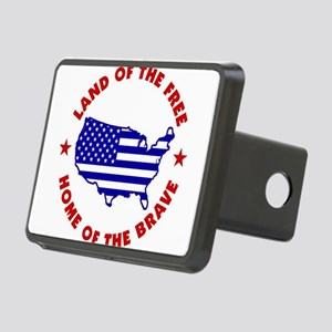 32238411b Rectangular Hitch Cover