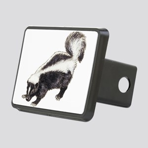Skunk drawing Rectangular Hitch Cover