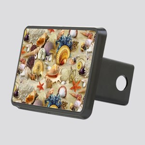Fancy Seashell Rectangular Hitch Cover