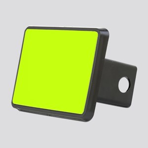 Neon Yellow Solid Color Rectangular Hitch Cover