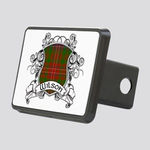 Wilson Tartan Shield Rectangular Hitch Cover