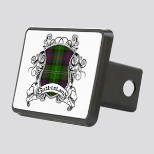 Sutherland Tartan Shield Rectangular Hitch Cover