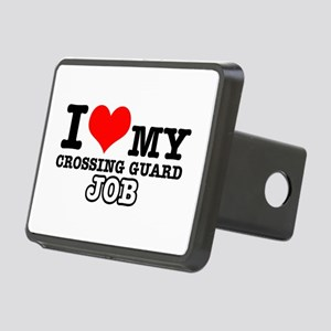 Crossing Guard Job Designs Rectangular Hitch Cover