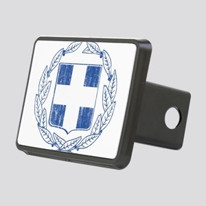 Greece Coat Of Arms Rectangular Hitch Cover