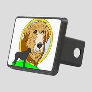 Irish wolf hound Rectangular Hitch Cover