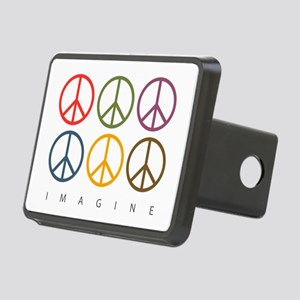 Imagine - Six Signs of Peace Rectangular Hitch Cov