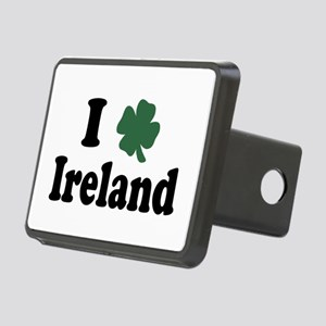 I Love Ireland Rectangular Hitch Cover