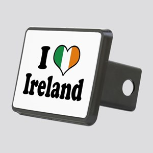 I Love Ireland Tricolor Rectangular Hitch Cover