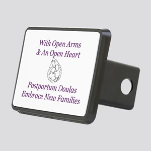 Postpartum Doula Embrace Rectangular Hitch Cover