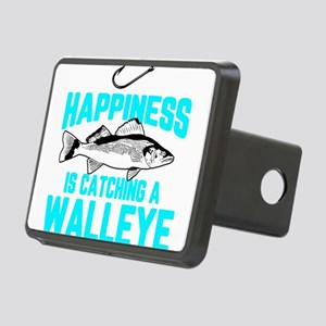 Funny Walleye Fishing Fres Rectangular Hitch Cover