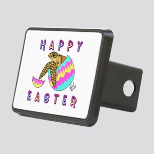Easter Turtle Rectangular Hitch Cover