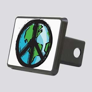 peace Rectangular Hitch Cover