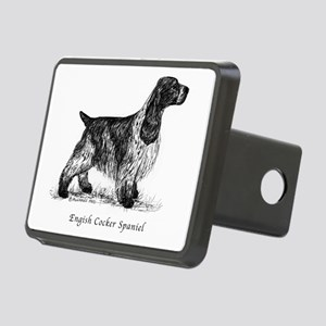 English Cocker Spaniel Rectangular Hitch Cover