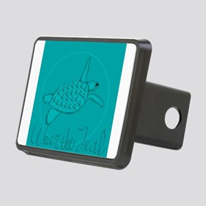 Wear the Teal Rectangular Hitch Cover