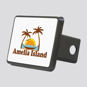 Amelia Island - Palm Trees Design. Rectangular Hit