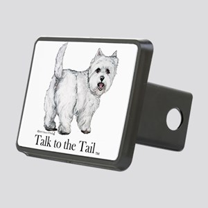Westie Attitude Hitch Cover