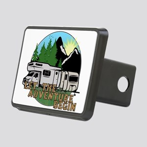 Camping Adventure Rectangular Hitch Cover
