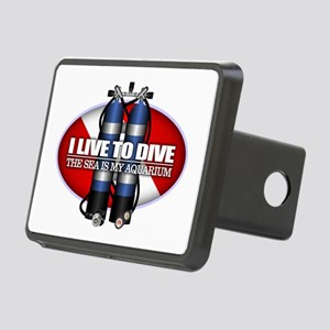 Live To Dive (ST) Hitch Cover
