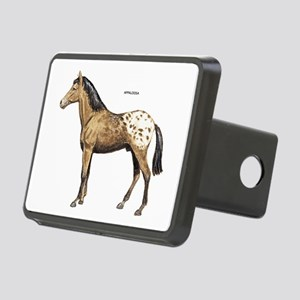 Appaloosa Horse Rectangular Hitch Cover