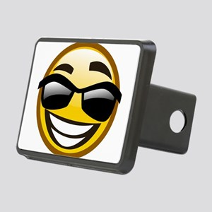 Emoticon emotions Rectangular Hitch Cover