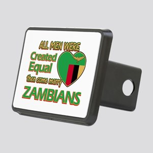 Zambian wife designs Rectangular Hitch Cover