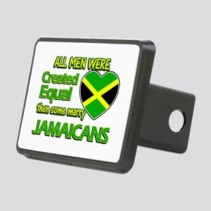 Jamaican wife designs Rectangular Hitch Cover