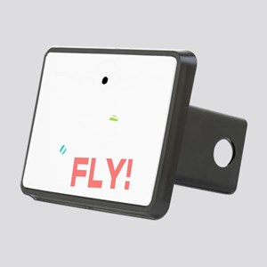 Its Time To Fly Rectangular Hitch Cover