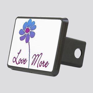 love_more01 Rectangular Hitch Cover