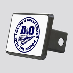 B&O Railroad Logo Rectangular Hitch Cover