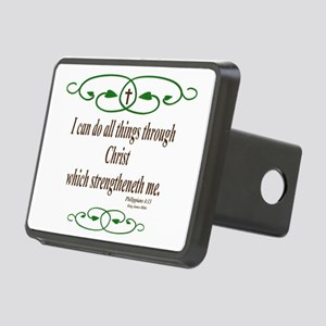 Philippians 4 13 Bible Verse Hitch Cover
